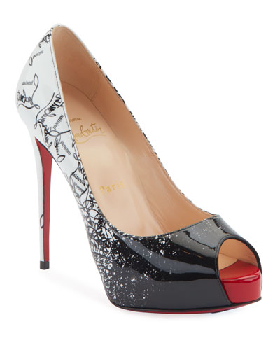 New Very Prive 120 Degraloubi Red Sole Pumps