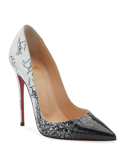 04da47705ea65d Quick Look. Christian Louboutin · So Kate 120mm Patent Degraloubi Red Sole  Pumps