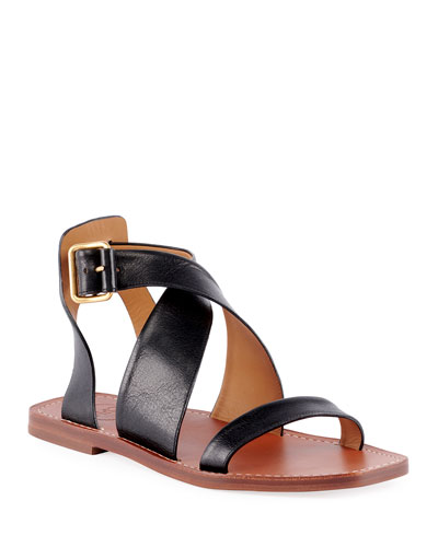 432c502502ed4 Quick Look. Chloe · Virginia Flat Strappy Sandals