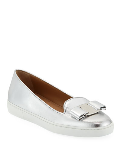 Novello Bow Slip-On Sneakers