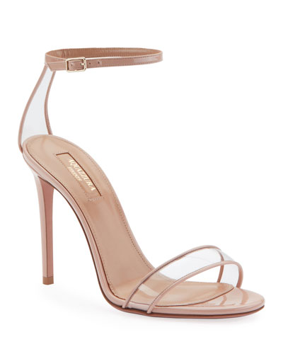 12fba89024adc Quick Look. Aquazzura · Minimalist High-Heel Patent Sandals