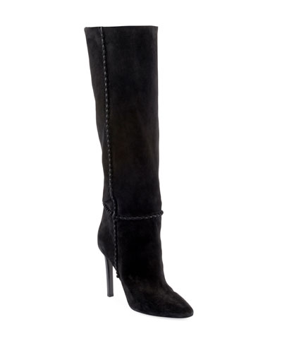 Mica Suede Knee Boots
