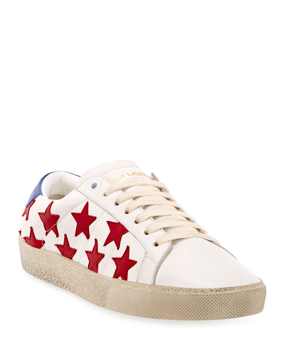 Court Classic Star-Print Sneakers