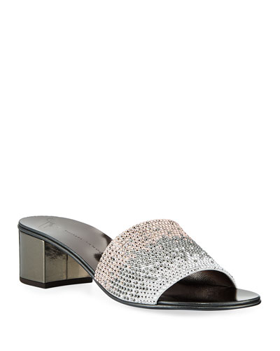 Quick Look. Giuseppe Zanotti · Ombré Crystal Slide Sandals 5a76bc7b0
