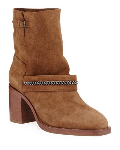 Elisha Weatherproof Suede Boots
