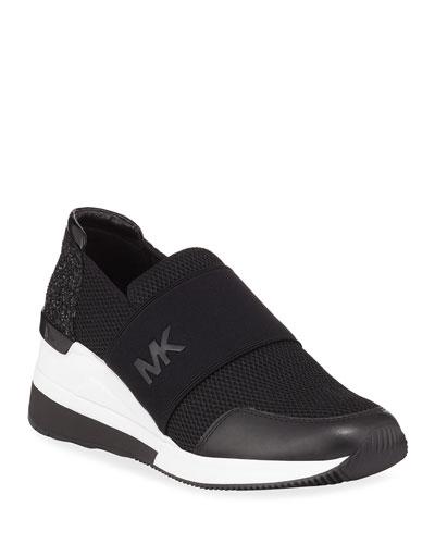 Felix Logo Slip-On Trainer Sneakers