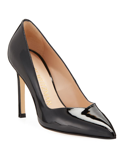 Anny Patent Leather Pointed Pumps