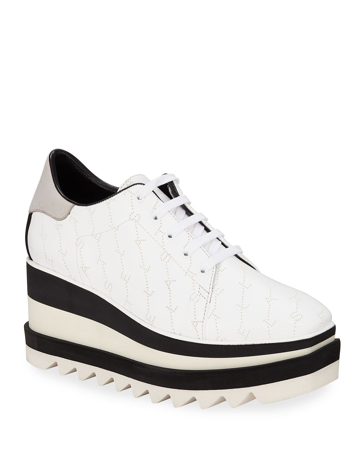 Sneakelyse Lace-Up Platform Sneakers
