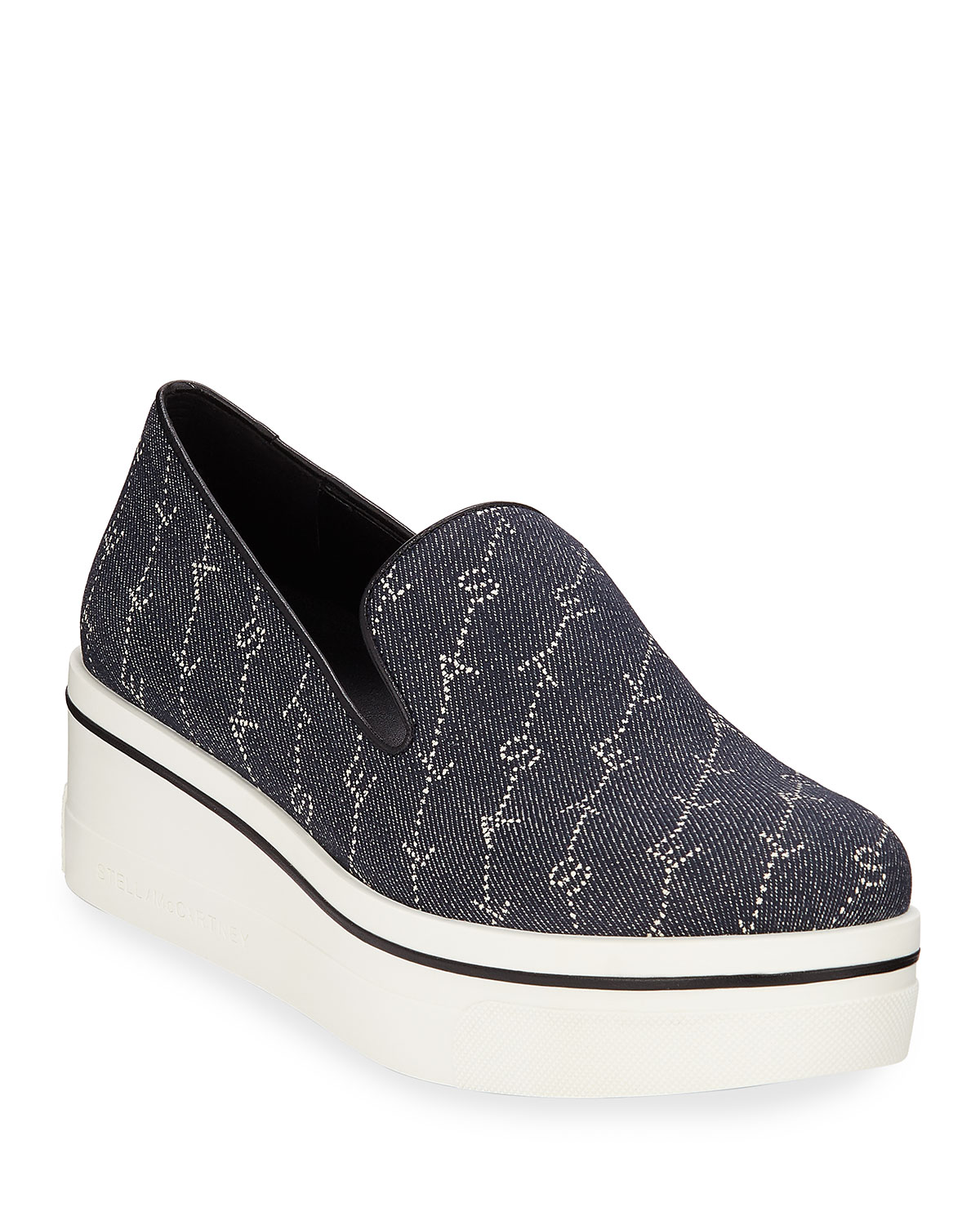 Binx Logo Denim Sneakers