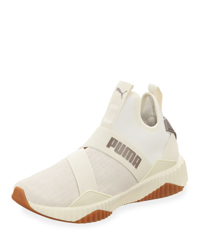 Defy Mid Luxe Chunky Sneakers
