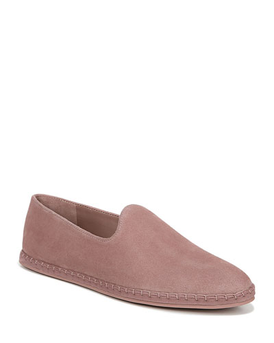 Malia Flat Suede Espadrille Loafers