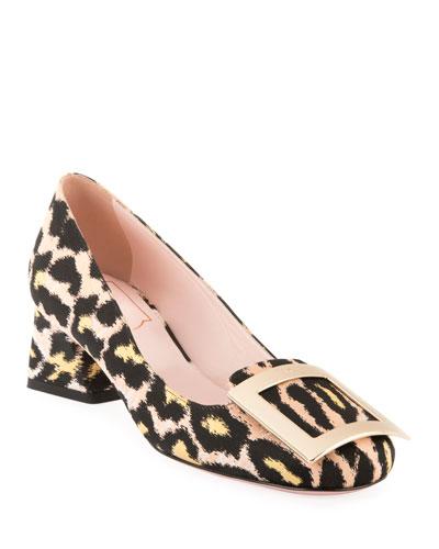 Belle de Jour Leopard Pumps