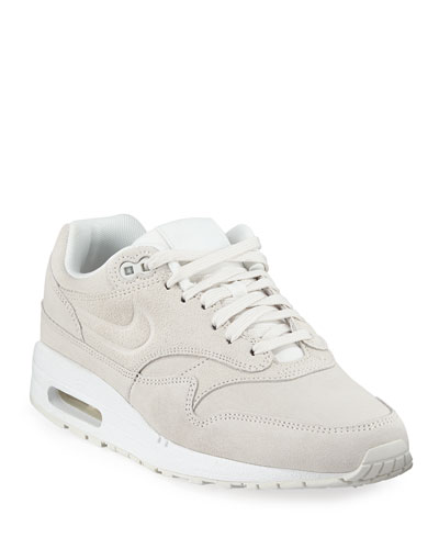 Air Max 1 Premium Leather Sneakers