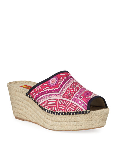 Isabel Wedge Espadrille Sandals