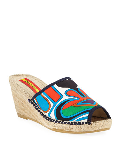 Delicia Wedge Espadrilles Sandals