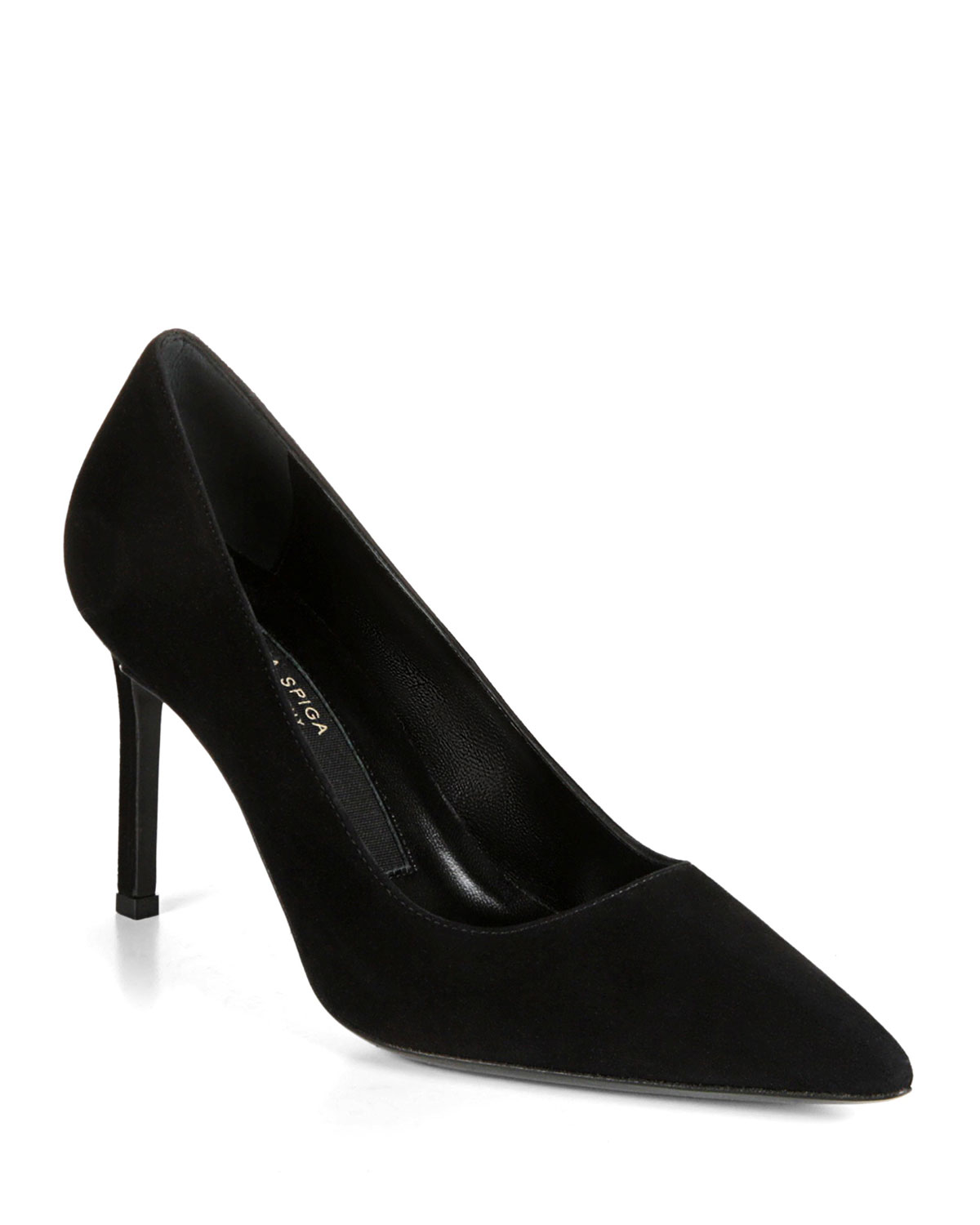 Nikole Suede PointToe Pumps