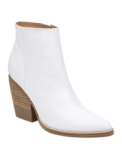 Bellen Leather Zip Boots