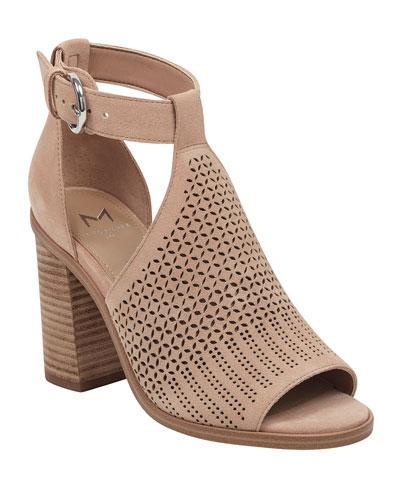Vixen Cutout Suede Sandals