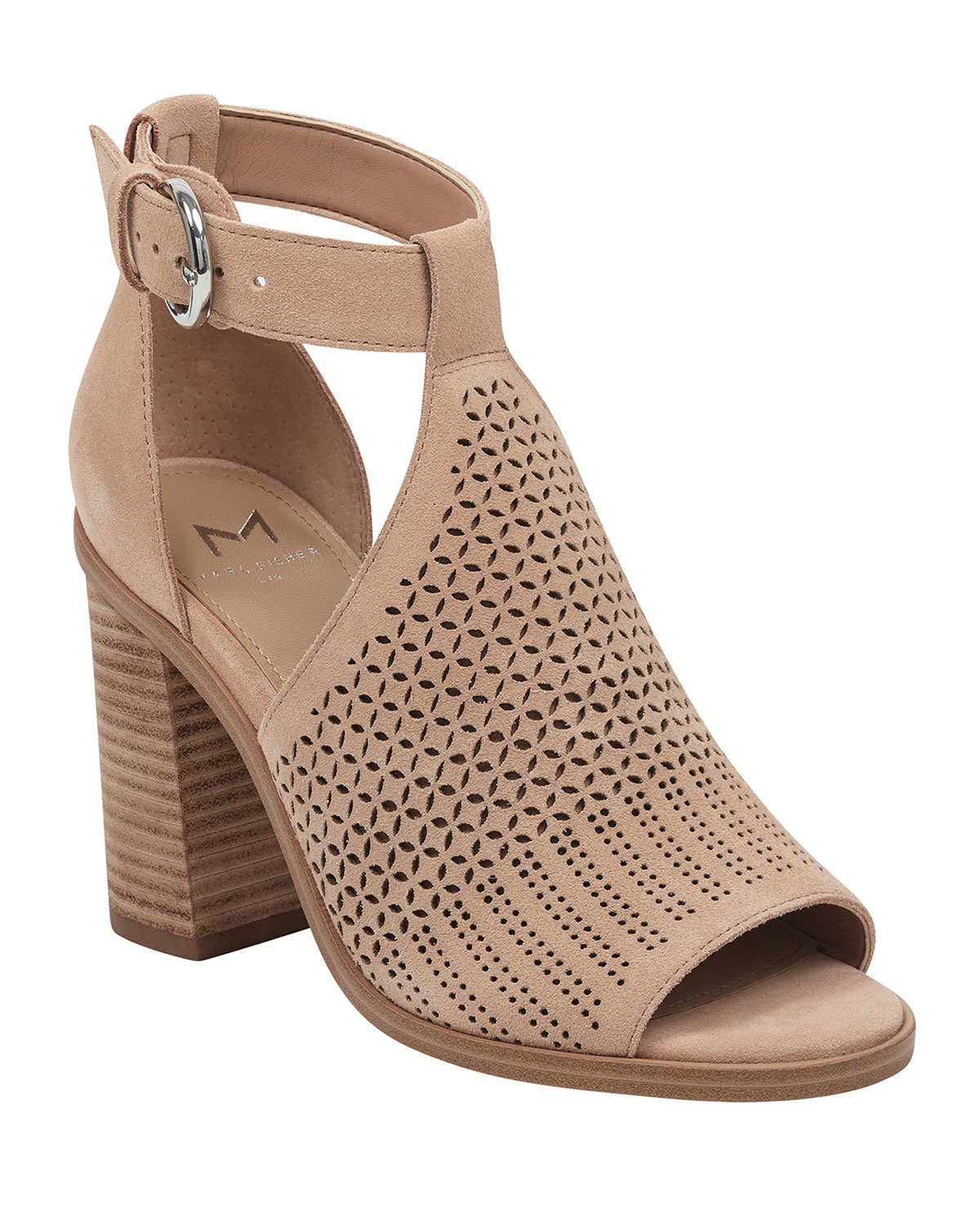 Vixen Cutout Suede Sandals