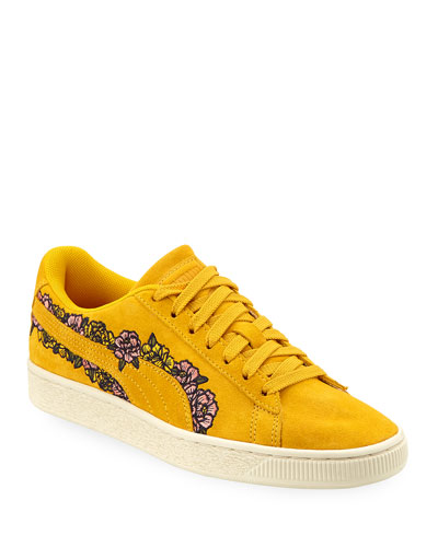1295b85bfbd Quick Look. Puma · Basket Suede Embroidery Sneakers