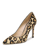 Sam Edelman Hazel New Nude Leopard Pumps