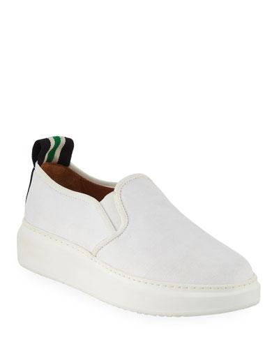 Westley Canvas Slip-On Sneakers