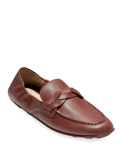 Odette Driverina Grand Leather Foldable Loafers