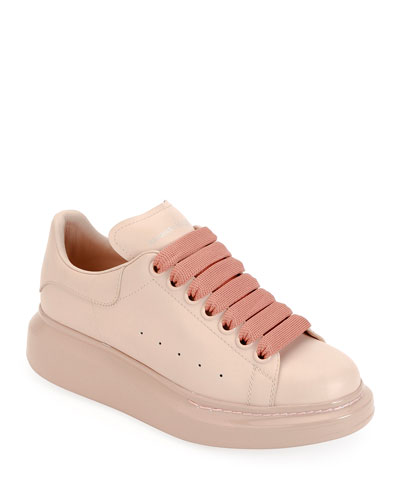 2a675f25d2d2 Quick Look. Alexander McQueen · Oversized Platform Lace-Up Sneakers.  Available in Pink