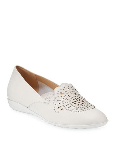 Ben Embellished Leather Comfort Loafers