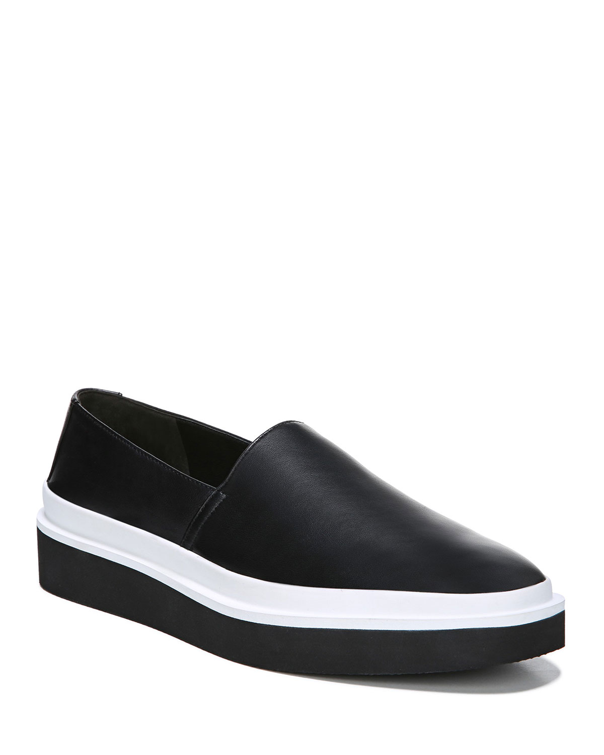 Travis Leather Platform Sneakers