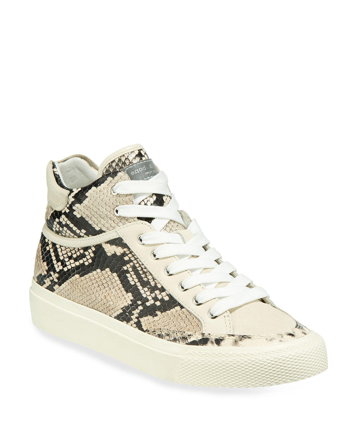 Army High-Top Sneakers