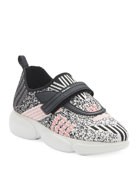 Prada Cloudbust Knit Logo Trainer Sneakers