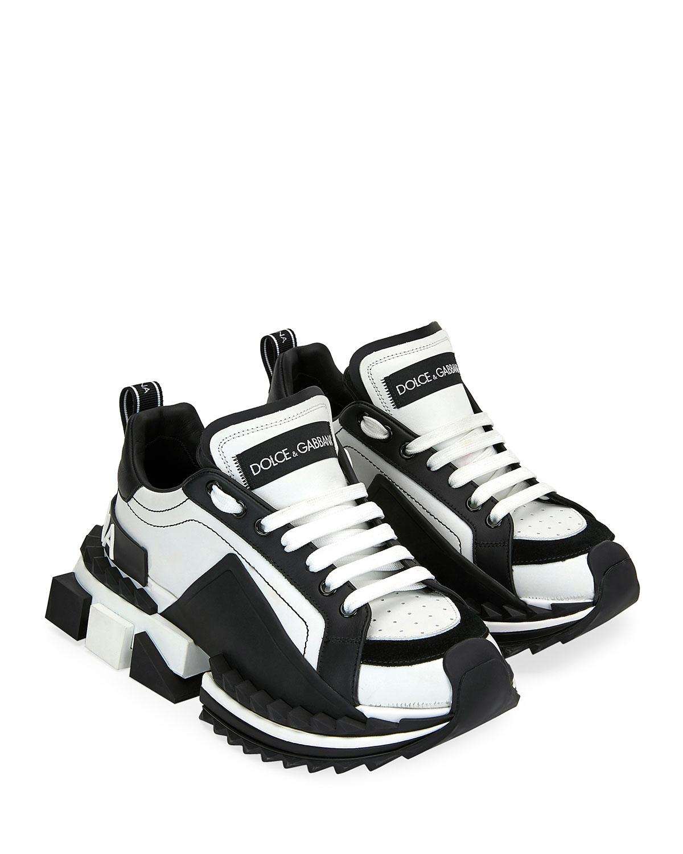 Super Queen Colorblock Trainer Sneakers