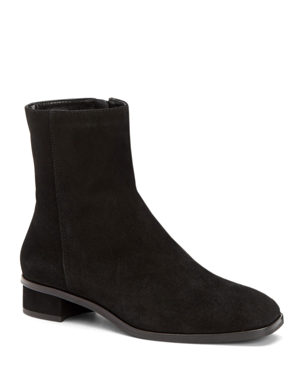 Lucie Suede Booties