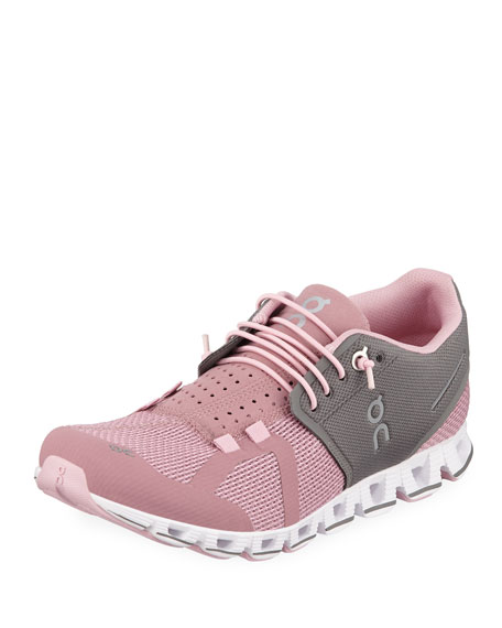 On Cloud Cushioned Knit Sneakers