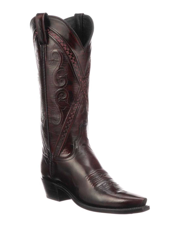 Darlene Crisscross Western Boots