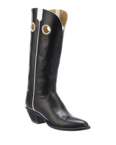 Jacqueline Leather Knee Boots