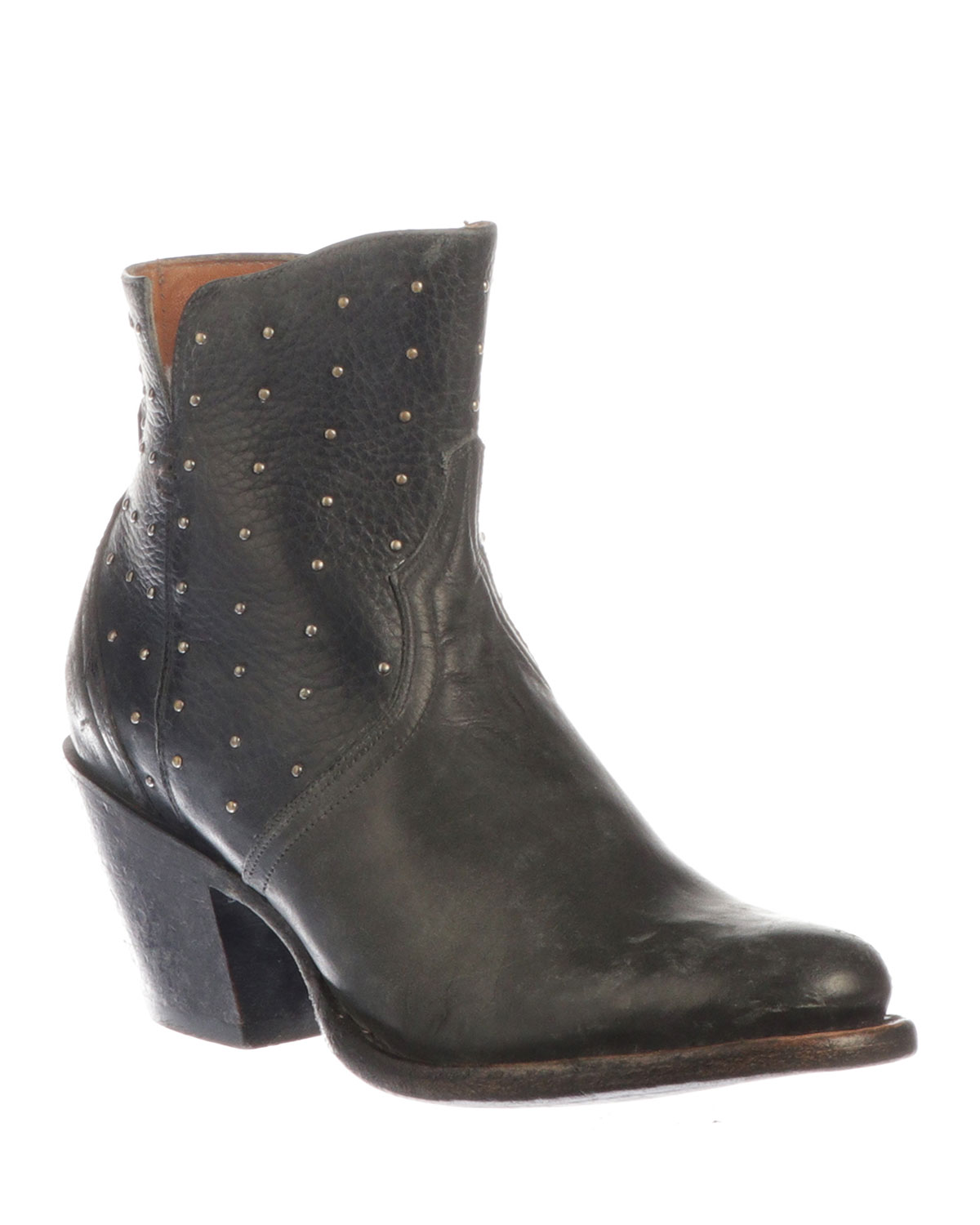 Harley Studded Western Booties