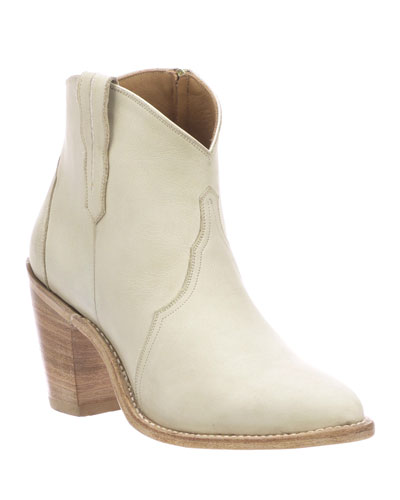 Gigi Western Leather Booties