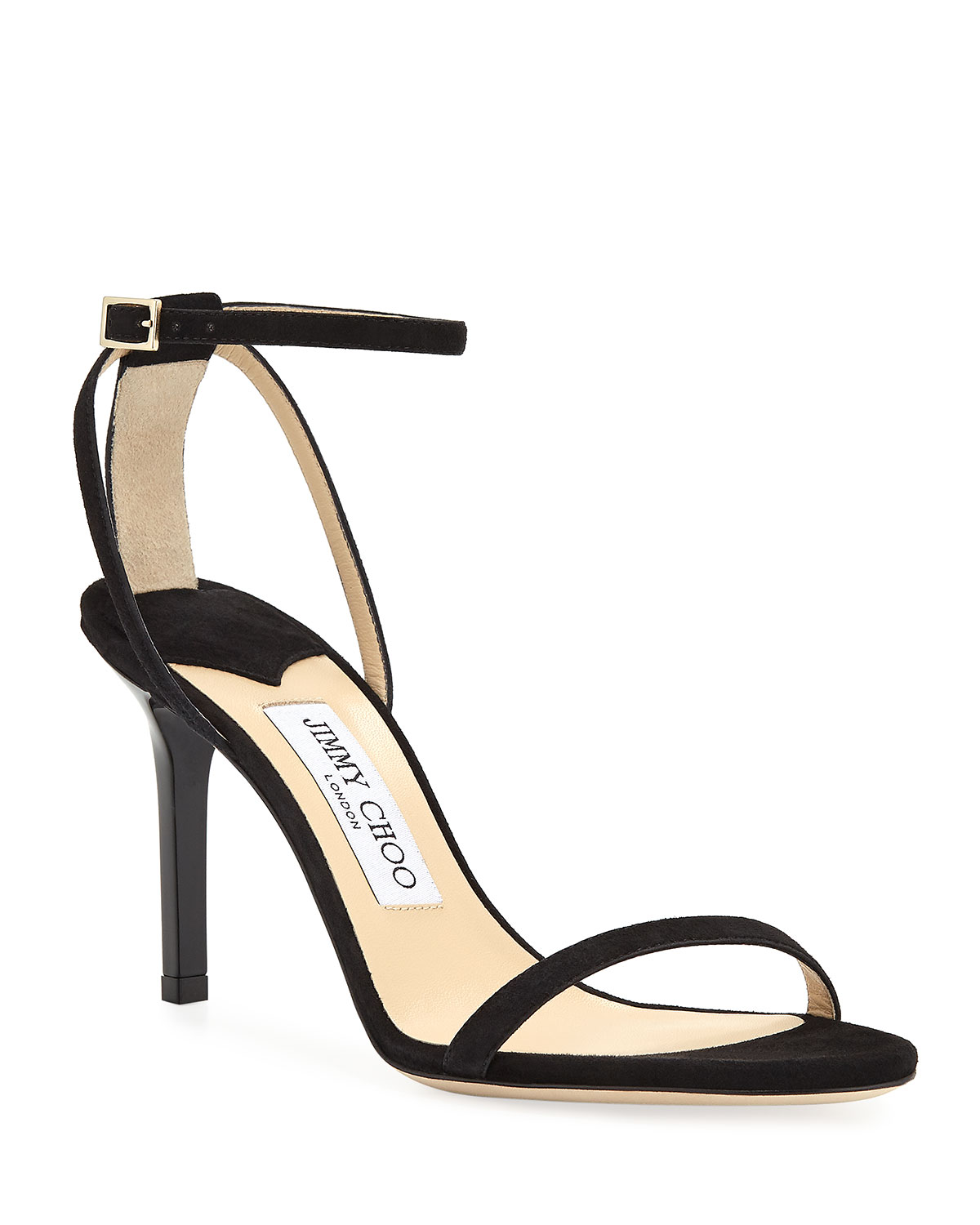 Minny Suede Ankle Sandals