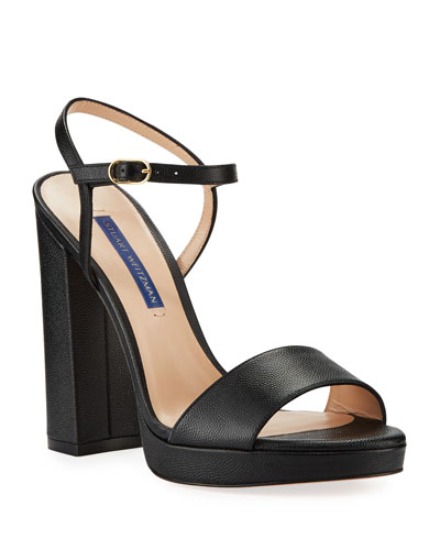 Sunray Leather Platform Sandals