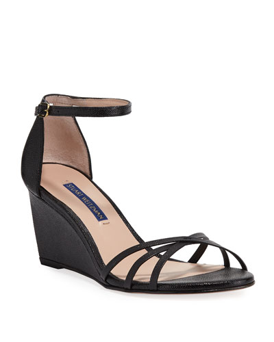 Estarla Patent Wedge Sandals