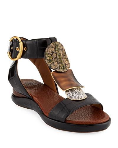 89c70ef8dba Quick Look. Chloe · Wanda Flat Tall Gladiator Sandals