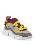 Chloe Sonnie Mixed Nylon Sneakers