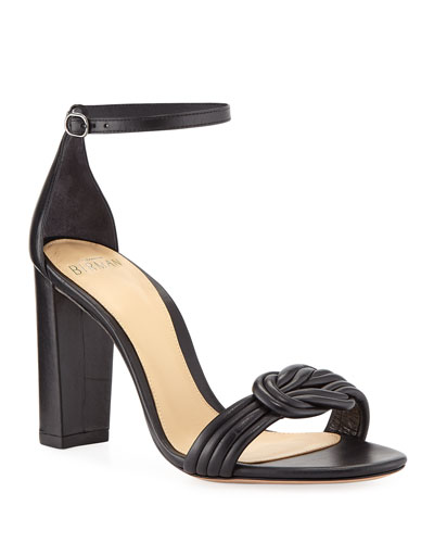 Chiara Knot Leather Sandals