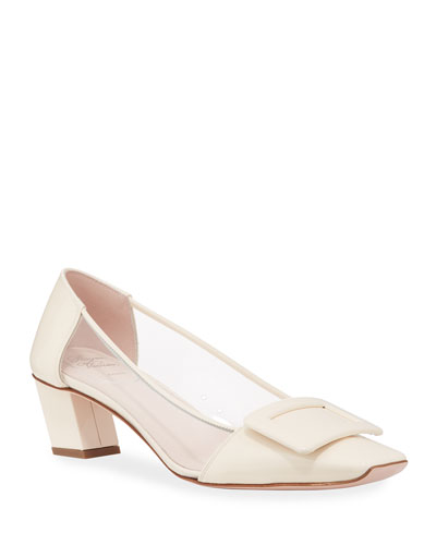Belle Vivier 45mm PVC Pumps