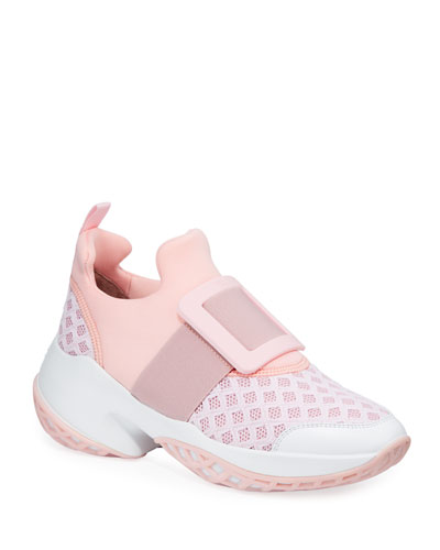 Viv' Run Knit Platform Sneakers