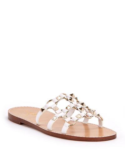 Rockstud Flat Slide Sandals