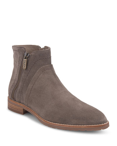 Marcella Waterproof Suede Booties