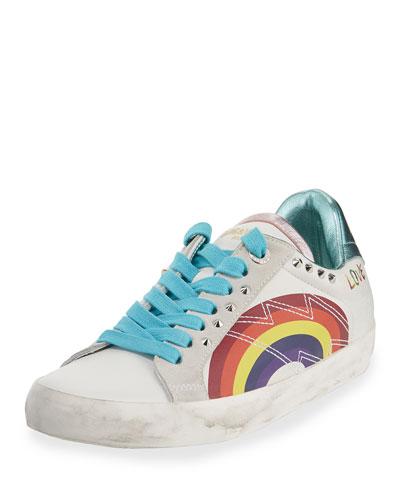 White Wedge Sneakers | Neiman Marcus